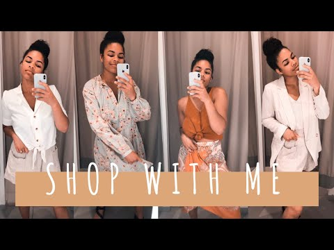 Shop with me at H&M and Francesca's