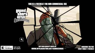 2015 GTA SAN ANDREAS - West Coast Freebeat Hip Hop Instrumental [prod. by HunesBeats & InsideBeatz]