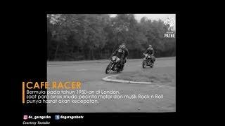 De garage   Sejarah Cafe Racer