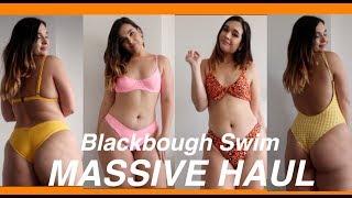 HUGE BIKINI TRY ON HAUL! | Blackbough Swim Review Summer 2018