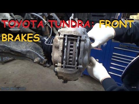 Toyota Tundra - Front Brakes