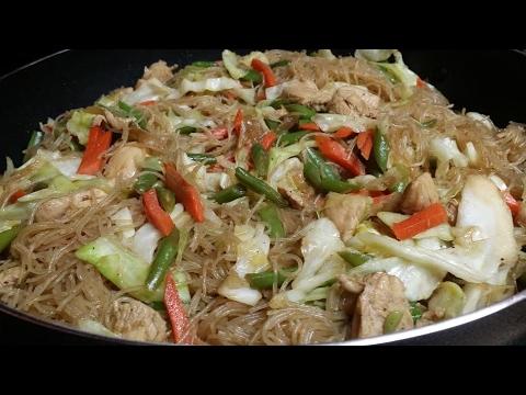 Pancit Recipe (Rice Noodles)
