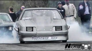 Food Stamps twin turbo fox vs Fulgar's procharged Camaro at Small Tire Legends thumbnail