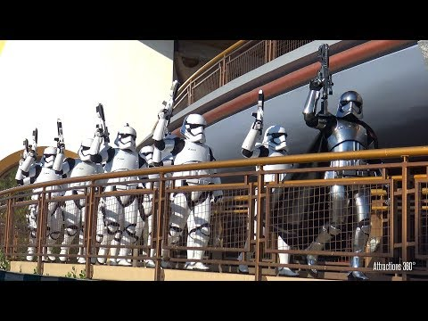 [4K] March of the First Order at Disneyland - Stormtroopers - Star Wars