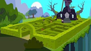 Kiddyzuzaa | Malice's Magic Maze | Season 2 | Cartoons for Children | WildBrain Cartoons