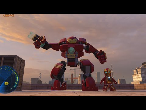 LEGO Marvel Avengers - All Iron Man Suits + Gameplay