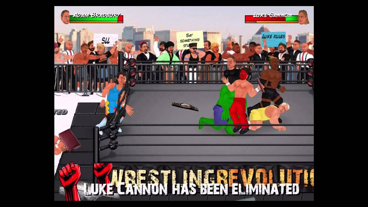 HUGE 50 Man Royal Rumble - WWE, TNA, WCW, ECW and Divas - Wrestling  Revolution 2D by ItsAjaxTime