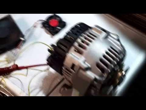 DIY 12V DC Generator - Testing the alternator