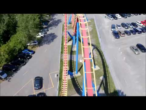 La Ronde: Goliath / On Ride Front Row POV / August 16, 2015