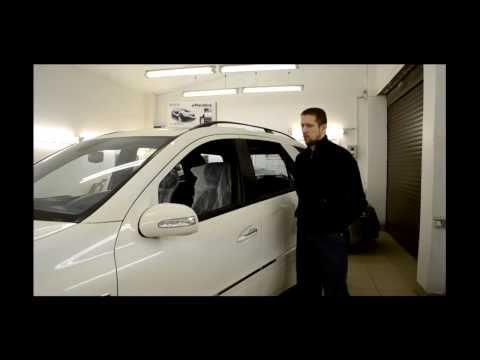 Автозапуск на Мерседес мл 164 кузов видео.