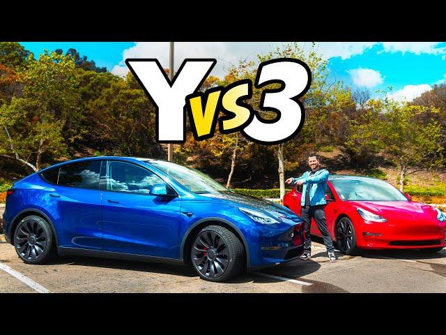 Tesla Model Y vs Model 3 Review: Don't make a mistake!