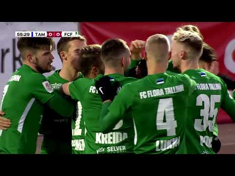 Tammeka Tartu Flora Tallinn Goals And Highlights