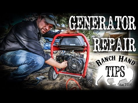 Generator Troubleshooting, Repair, Maintenance, and Starting Issues - Ranch Hand Tips