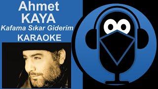 Kafama Sıkar Giderim /KARAOKE Sözleri (Cover)2020
