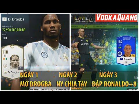 CÂU CHUYỆN FIFA ONLINE 4 | NGÀY 1 MỞ DROGBA ICON, NGÀY 2 NGƯỜI YÊU CHIA TAY, NGÀY 3 ĐẬP RÔ BÉO +8