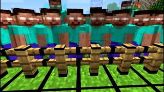 One of ExplodingTNT's most viewed videos: HEROBRINE vs. TNT