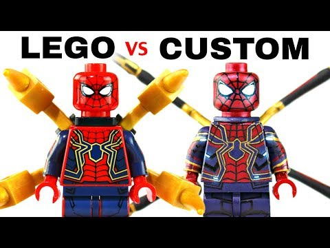 LEGO AVENGERS INFINITY WAR : Official Minifigs vs. Customs - EP2