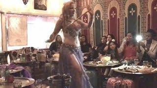 Saidi stick dance by belly dancer Liz Leyla