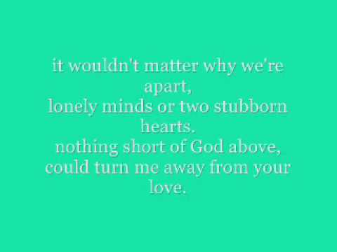 No Place That Far by Sara Evans - lyrics.