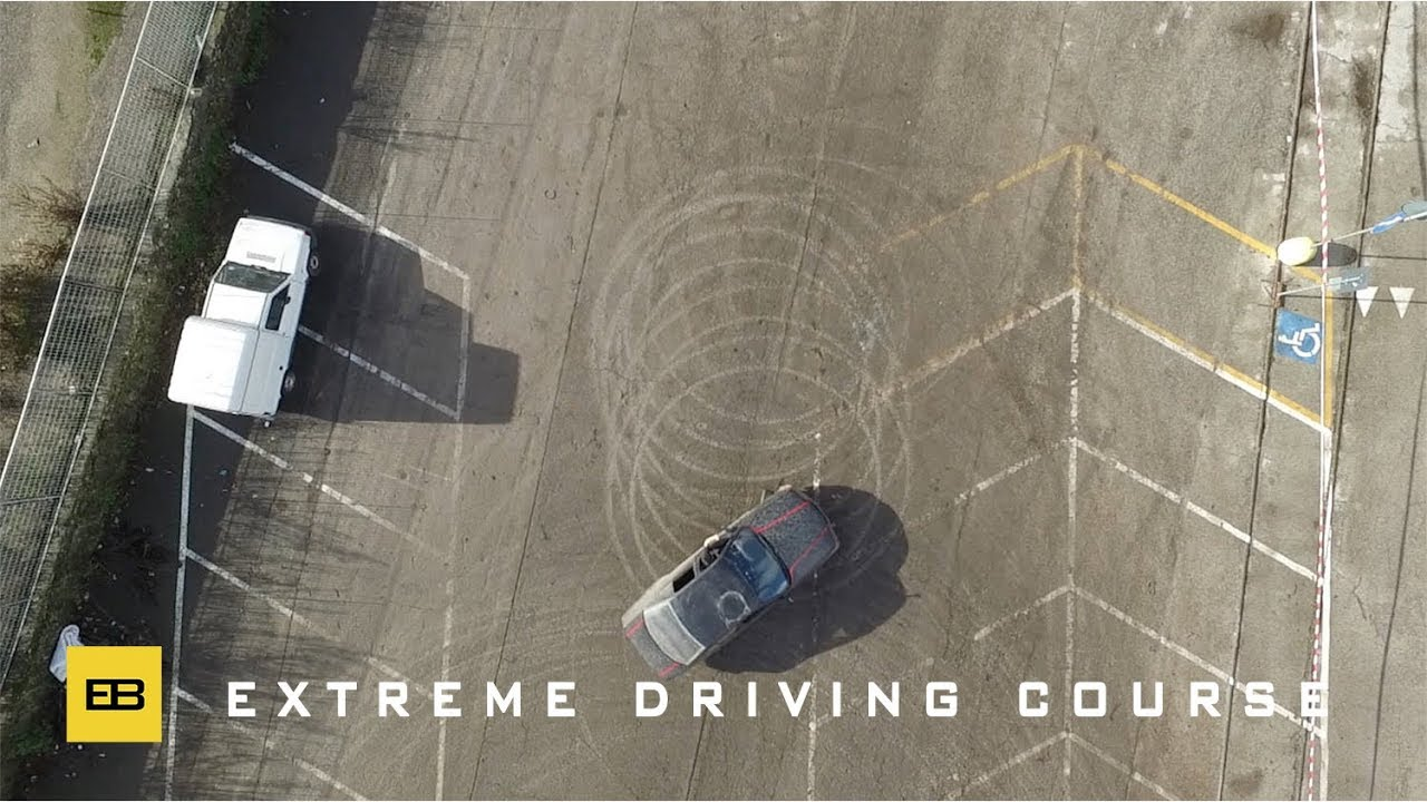 Stunt Driving School >> Extreme Driving Course or how to improve your driving skills - YouTube