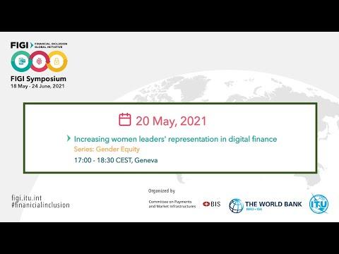 FIGI-2021 | Increasing women leaders' representation in digital finance