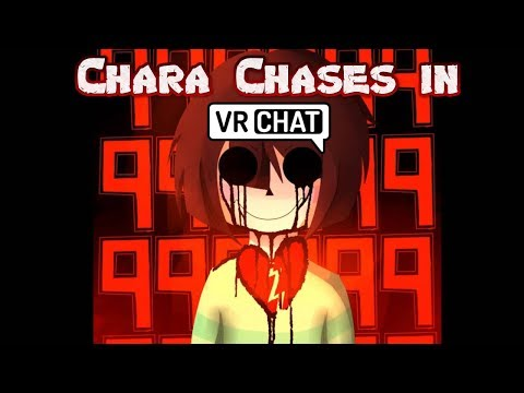 Undertale Chara gives chase in VRchat!