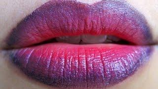 Gradient Lips Tutorial | Lip Art