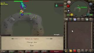 Watching People kill Zulrah, Telescope at Fairy ring DLR
