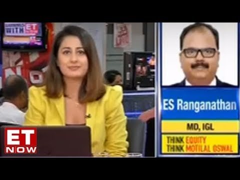 E.S. Ranganathan, MD Of Indraprastha Gas Limited On Strong Q1   Earnings With ET Now