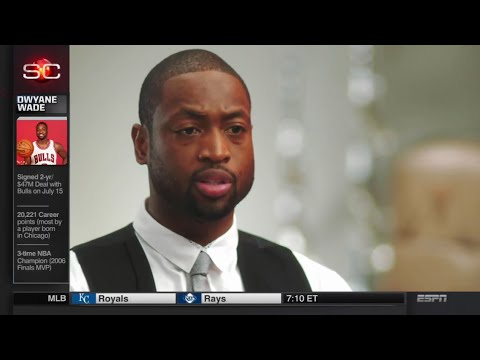 Dwyane Wade Interview On LeBron, Heat and Durant's Warriors Move!