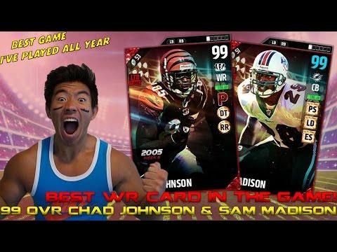 WE GET 99 OVR CHAD JOHNSON & SAM MADISON! CLOSEST GAME I