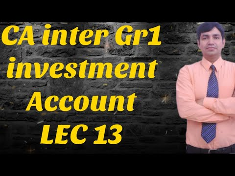 LECT 13 CA. Ajay Rathi  CA INTER GR-I ACCOUNTS NEW SYLLABUS   like share and subscribe
