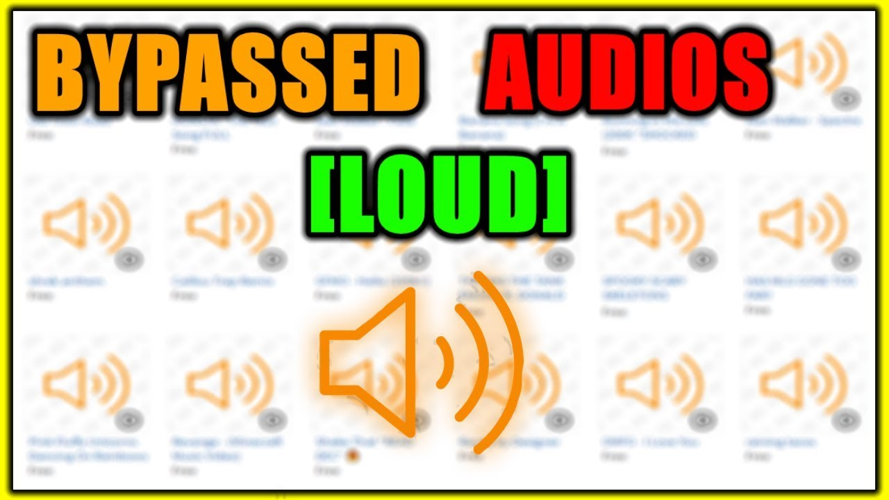 New Rare Roblox Bypassed Audios 2019 Unleaked 100 By