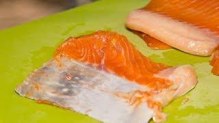 Красная рыба, засолка форели в домашних условиях