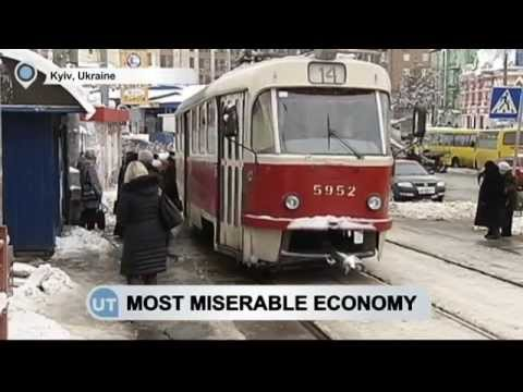 Ukraine Fourth in Misery Index: Bloomberg ranking shows high unemployment and inflation rate