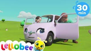 Learn Rainbow Colors + More Nursery Rhymes & Kids Songs - Little Baby Bum
