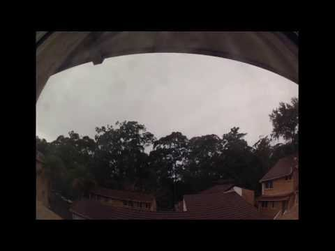 Today's weather from my place in the Western suburbs in Sydney, NSW, Australia 19-07-2013