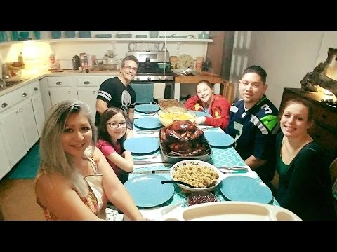 Our 2016 Family Turkey Dinner