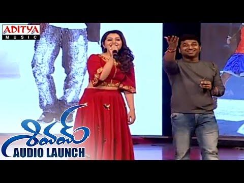 DSP & Rashi Khanna Singing Song At Shivam Audio Launch || Ram, Rashi Khanna || Devi Sri Prasad