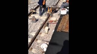 Алюмотермитная сварка рельсов(, 2015-07-03T02:47:20.000Z)