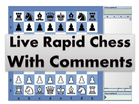 25 10 Rapid Chess #219 with Live Comments Italian Game with Black