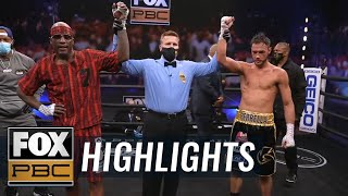 Tony Harrison vs Bryant Perrella main event fight | HIGHLIGHTS | PBC ON FOX