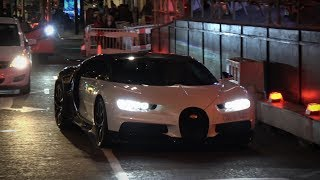 $2.5 Mln Bugatti Chiron come out only at night in London