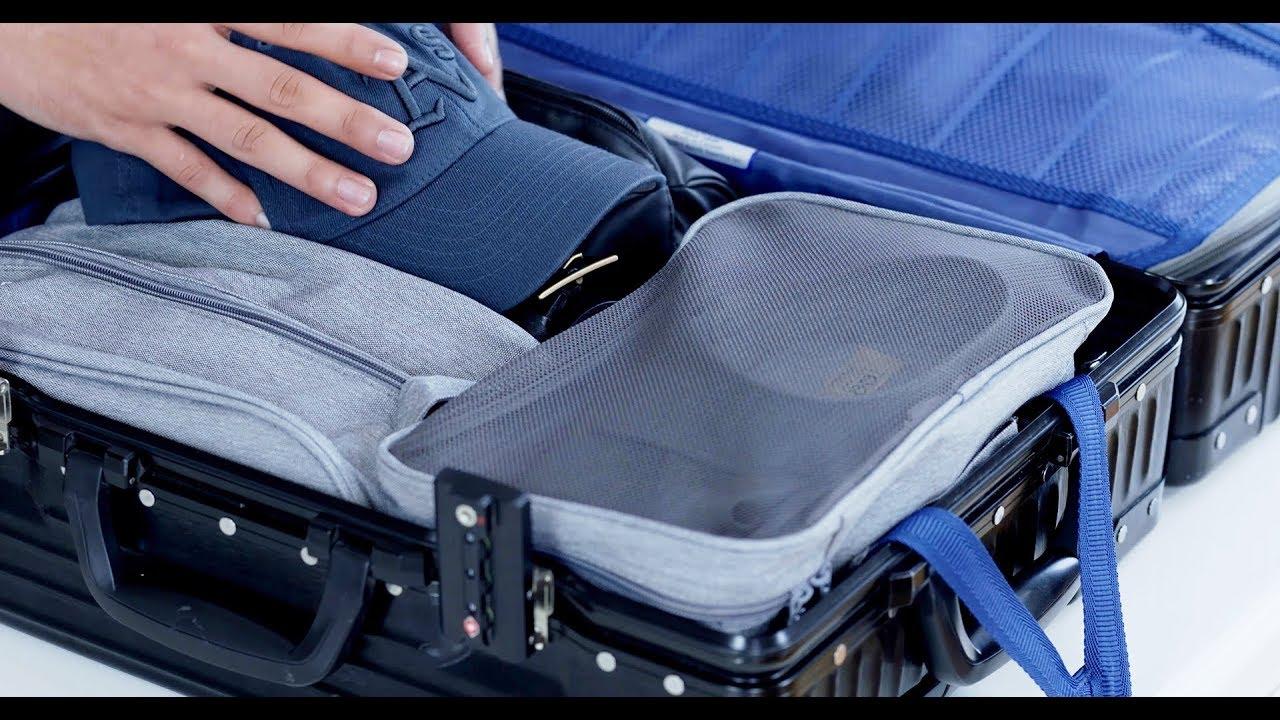Cách xếp đồ gọn gàng khi đi du lịch không bị nhăn | Cách xếp đồ vào vali cực gọn