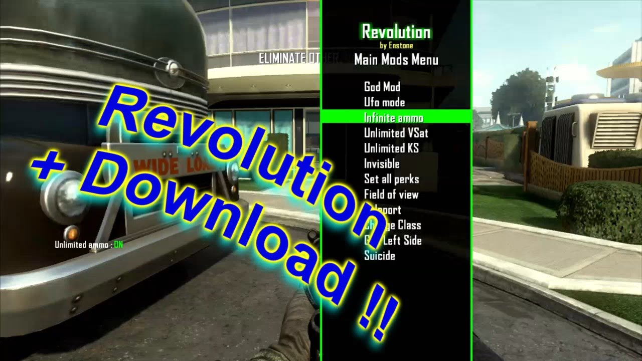 how to use 360 revolution mods