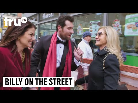Billy On the Street  Debra Messing You Gays!
