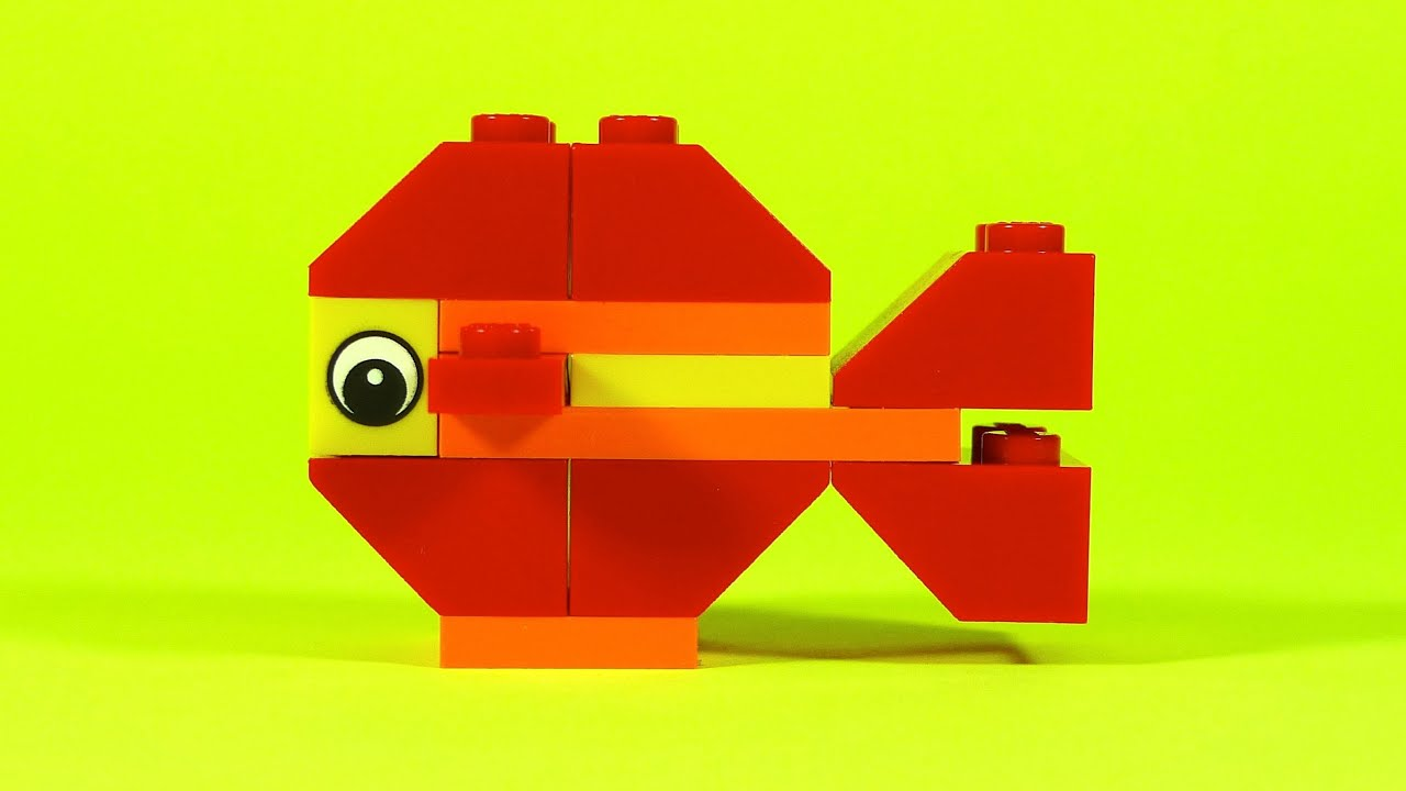 How To Build Lego Fish 4630 Lego Build Play Box Building