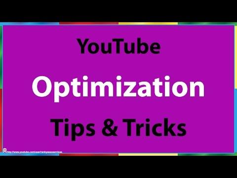 YouTube Optimization Tips - 동영상