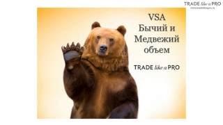 Бычий и Медвежий объем (объемы VSA)