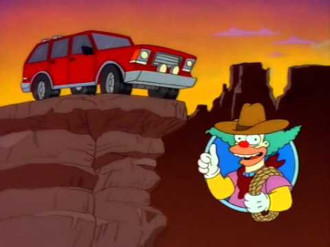The Simpsons - Canyonero